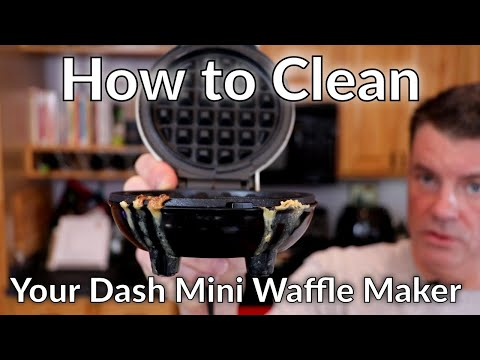 How To Clean Your Dash Mini Waffle Maker, Corn Dog Maker, Etc.