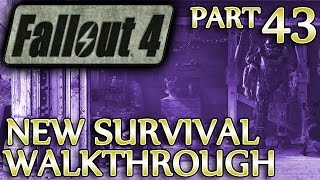 Ⓦ Fallout 4 New Survival Walkthrough ▪ Part 43: Medford Memorial Hospital, Greentop Nursery