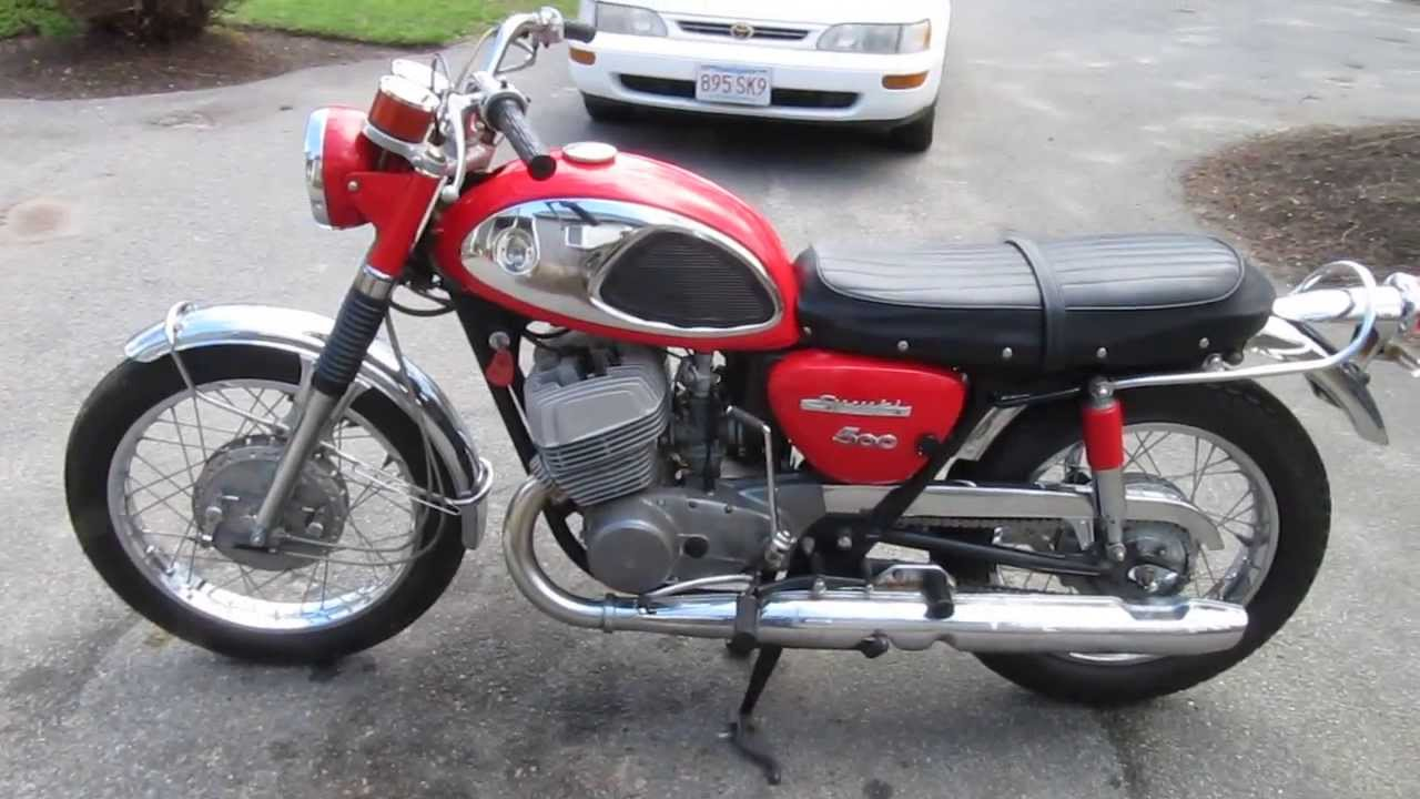 1968 suzuki t500 cobra - youtube