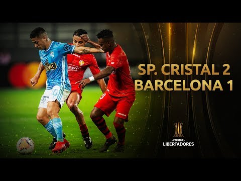 Sporting Cristal Barcelona SC Goals And Highlights