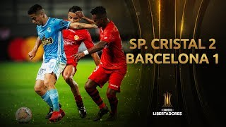 Sporting Cristal vs. Barcelona SC [2-1] | RESUMEN Y GOLES | Fase 2 | CONMEBOL Libertadores 2020