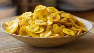 Como Fazer Chips de Banana