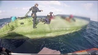 Coast Guard Interdicts Drug Smuggling Low-profile Go-Fast Boat
