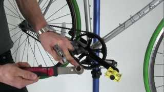 How To Remove A Crank Set Video