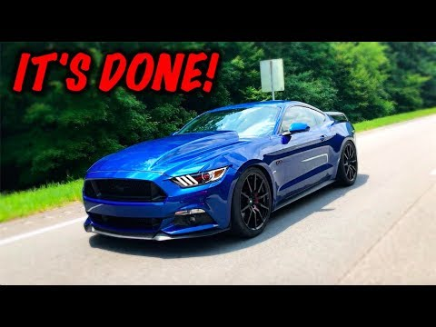 Rebuilding A Wrecked 2017 Mustang GT Part 16 - YouTube
