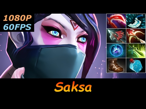 Dota 2 Saksa Templar Assassin Pro Top MMR 26/3/9 Ranked Full Gameplay