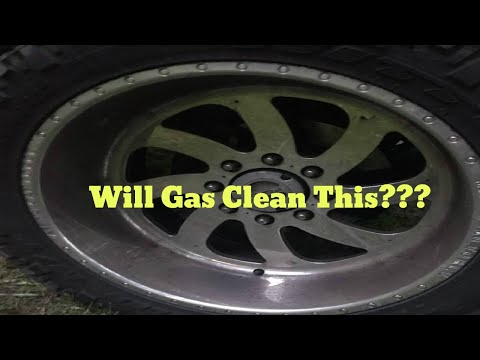 Will Gas Clean a $1000 American Force Wheel???!