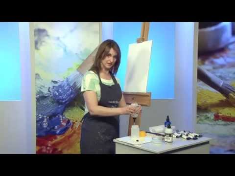 Make Acrylics Behave like oils USEFUL TIP! on how to blend acrylic paint - Paint With Maz