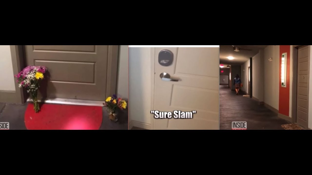 BOTHAM JEAN PROOF!! PROOF!! THE DOOR WAS NOT AJAR WATCH THE LINK