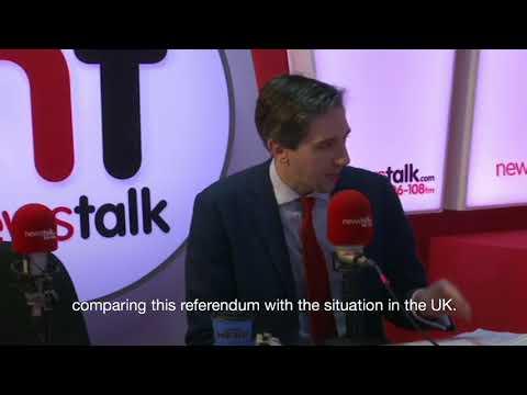 Minister Simon Harris on Disability & Abortion