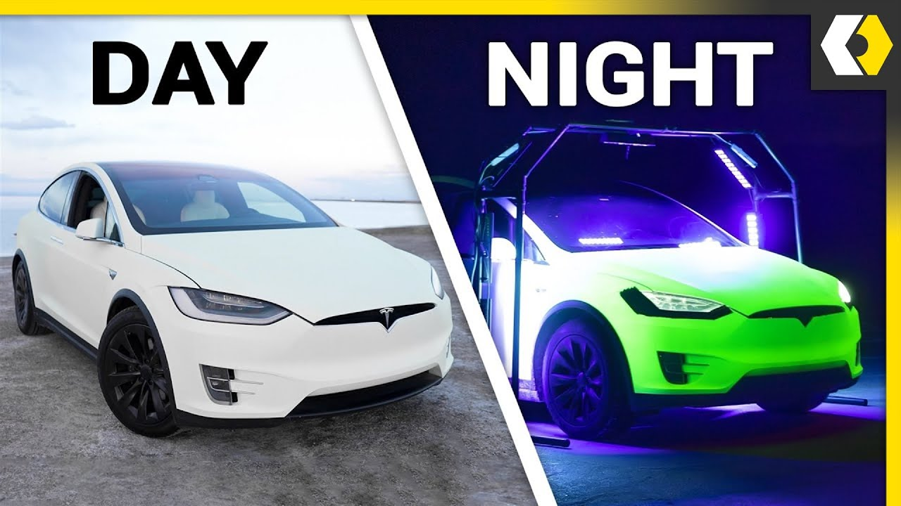 Would Glowing Cars Make Driving Safer?