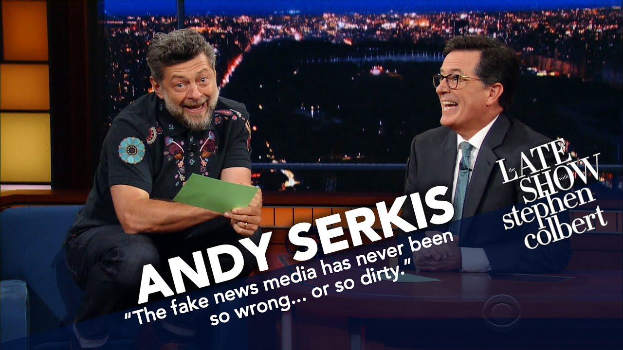 Download Andy Serkis Becomes Gollum To Read Trump's Tweets