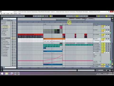 Skrillex and Diplo - Holla Out Feat. Snails & Taranchyla [Drop Remake] + FREE Ableton Live Project