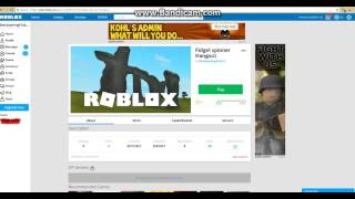 How to put an admin plugin on ROBLOX