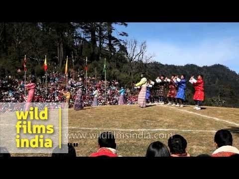 Fabulous peak winter festival in Bhutan: Druk Wangyel at Dochula