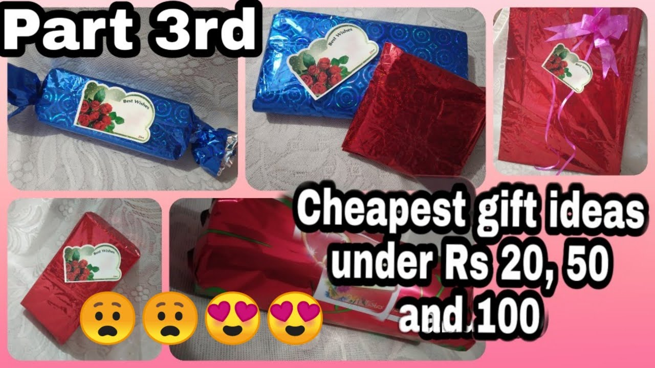 Cheapest Gift Ideas Under RS 20 ,20, 20 and above   Part 20rd  gift ideas   Easy and Cheap Making You