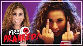 PRANK: OUASSIMA FLIPT OP MTV   FIRST PRANKED