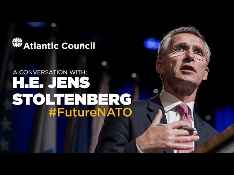 A Conversation with NATO Secretary General H.E. Jens Stolten