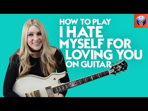how to play i hate myself for loving you on guitar joan jett song lesson youtube. Black Bedroom Furniture Sets. Home Design Ideas