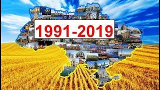 Україна в 1991-2019 роки. Головні події незалежної України. Літопис незалежності України