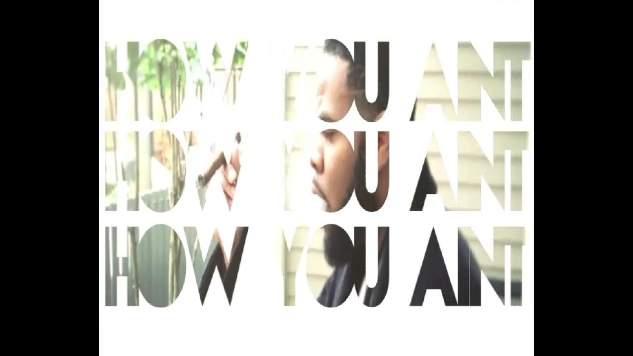 """Quite Frank - """"How You Aint"""" [Official Music Video"""