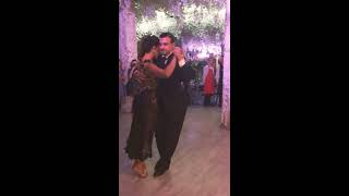 "Gioia Abballe & Simone Facchini.  Adornos Center. Moscow. 12.10.2018. Milonga ""THE YEAR OF LOVE""."