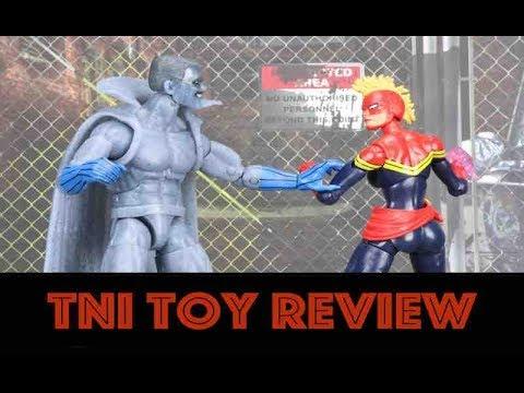 """Grey Gargoyle 6"""" Marvel Legends Captain Marvel Kree Sentry BAF Wave Figure Review"""