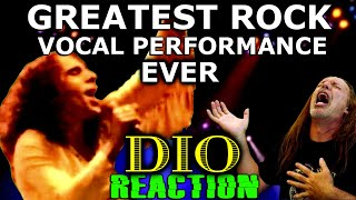 The Greatest Rock Vocal Performance I've Ever Seen | Dio | Rainbow | Mistreated | Ken Tamplin Reacts