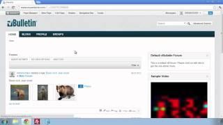 vBulletin 5 Connect: Managing Forums using Site Builder