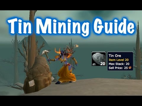 Tin & Silver Ore Farm Guide (World Of Warcraft)