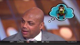 Inside the NBA - Chuck's mind is blown