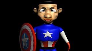 mr bean - hulkbuster (age of ultron)/ mr bean vs hulk