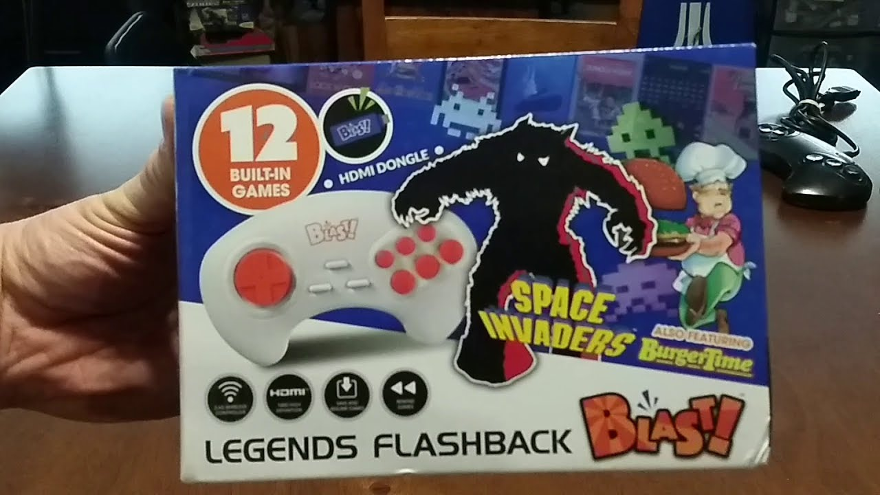 ATGames Legends Flashback Blast! - brief game play