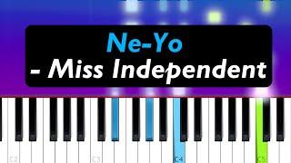 Ne-yo - miss independent (piano ...
