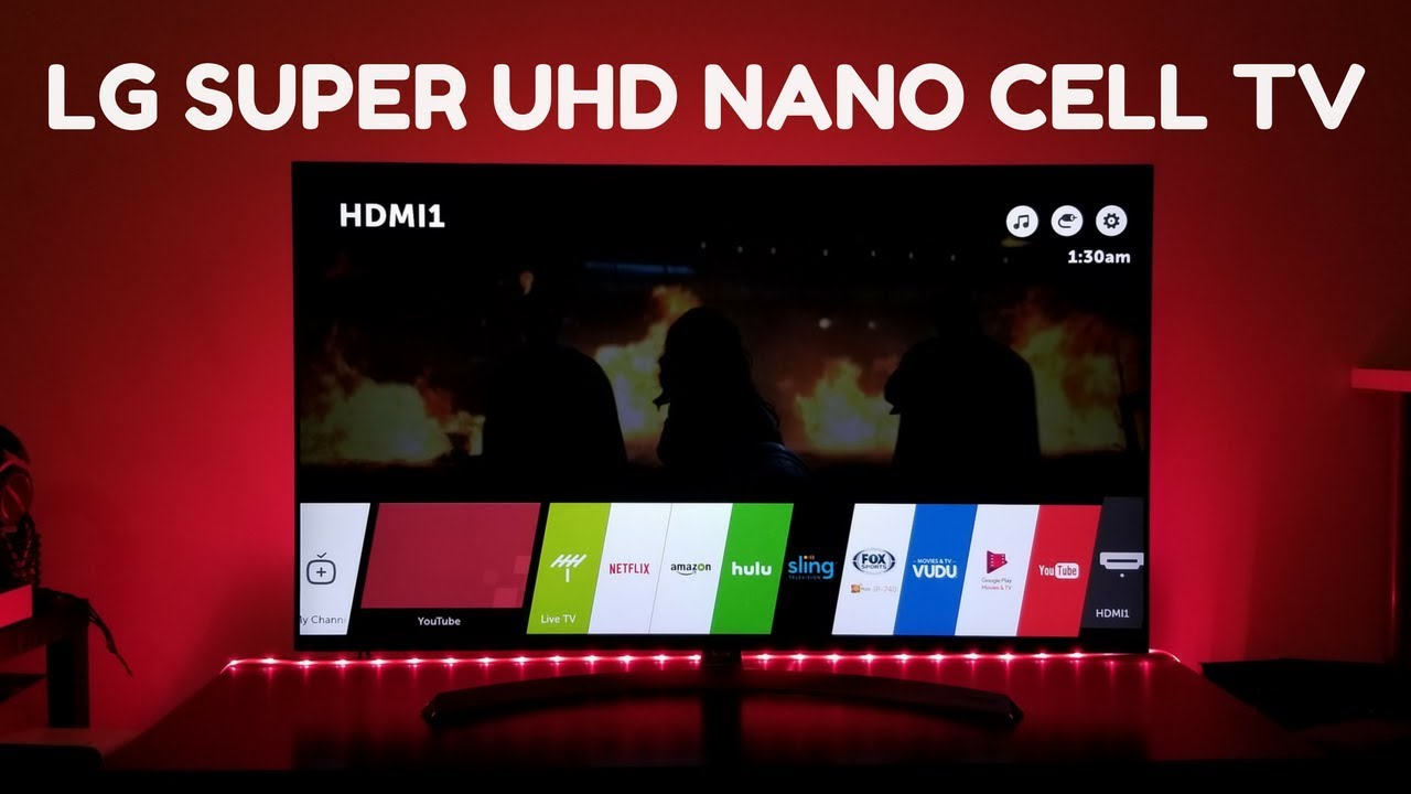 lg nano cell tv. lg super uhd nano cell tv setup \u0026 review!!! lg tv n