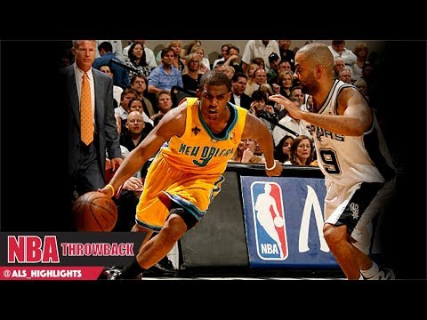 Chris Paul vs Tony Parker Duel 2008 WCSF Game 3 - TP With 31/11 Ast, CP3 had 35/9 Ast