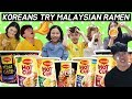 Koreans first try Malaysian cup noodle(Korean reaction men / SGwannabe)