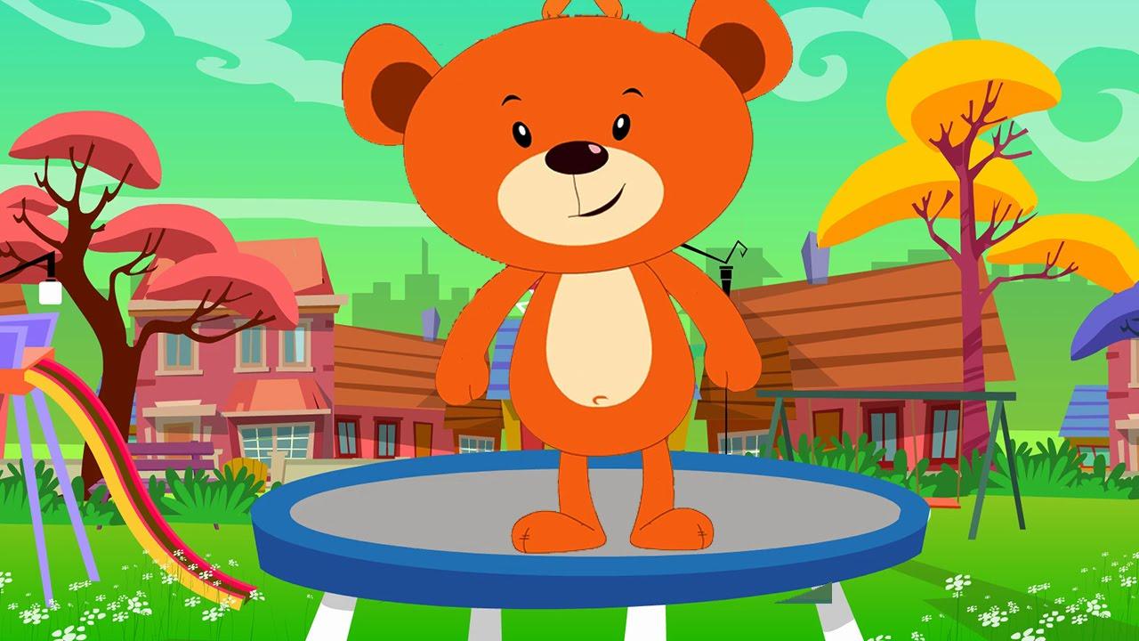 Teddy Bear Teddy Bear Turn Around Song – Kids Rhymes - YouTube