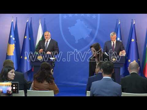 Borissov: Kosova do të përfaqësohet në Sofje si shtet i pavarur - 16.04.2018