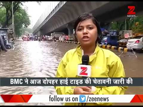 BMC issues High Tide warning in Mumbai