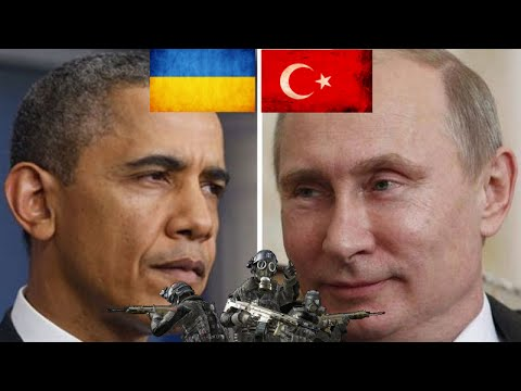 U.S backed Ukraine puts pressure on Crimea after recent Russian/Syrian gains!
