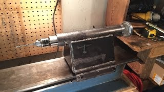 home made lathe part 11 building the tail stock