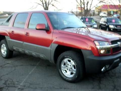 2002 Chevrolet Avalanche Z71 Crew cab 4x4 53 V8 Leather P