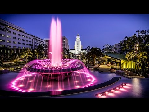 Grand Park, Sights and Sounds, Downtown Los Angeles, CA