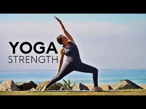 20 Minute Yoga For Strength (Upper Body) | Fightmaster Yoga Videos