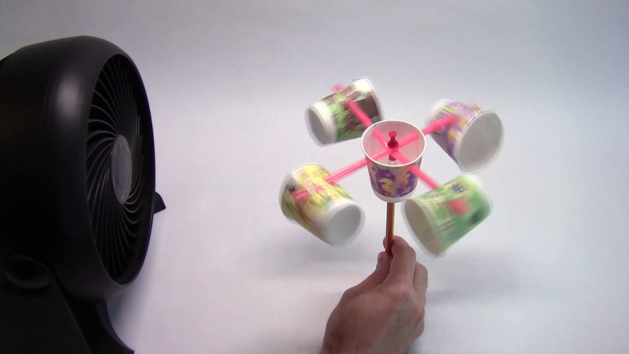 an Anemometer to Measure Wind Speed