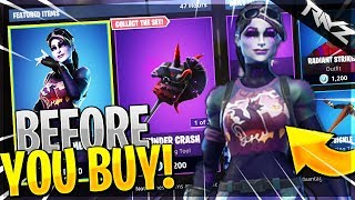 "BEFORE YOU BUY ""DARK BOMBER""! Should You Buy The Dark Bomber Skin? (Fortnite New Skin Gameplay)"