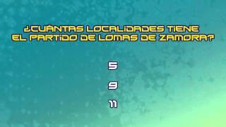 Trivia: ¿Cuántas localidades tiene el partido de Lomas de Zamora?
