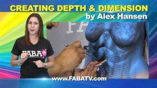 Creating Depth and Dimension by Alex Hansen