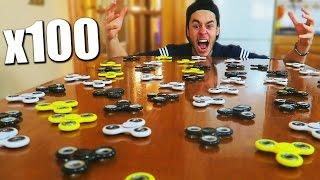 HACIENDO GIRAR 100 SPINNERS A LA VEZ!!! - TheGrefg